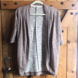 Women's Knit Cardigan, short sleeve
